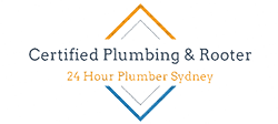 Certified Plumbing and Rooter logo
